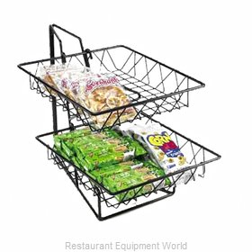 Cal-Mil Plastics 1293-2 Display Stand, Basket
