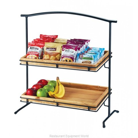 Cal-Mil Plastics 1330-12-13 Tiered Display Server Stand (Magnified)