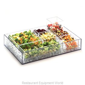 Cal-Mil Plastics 1396-12 Display Tray, Market / Bakery