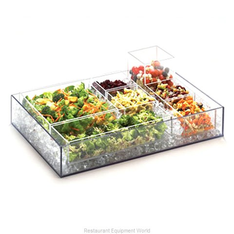 Cal-Mil Plastics 1398-12 Ice Display Tray Decorative