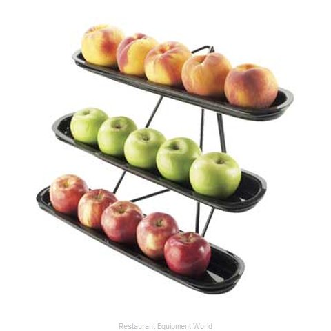 Cal-Mil Plastics 1407-13 Tiered Display Server Stand