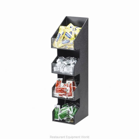 Cal-Mil Plastics 1423 Condiment Caddy Countertop Organizer (Magnified)