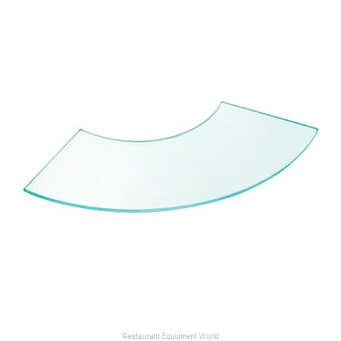 Cal-Mil Plastics 1444-16 Decorative Display Shelf Tray