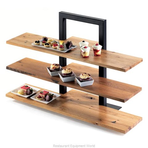 Cal-Mil Plastics 1449-68 Decorative Display Shelf Tray