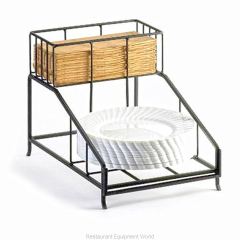 Cal-Mil Plastics 1455 Plate Rack (Magnified)