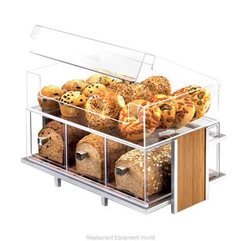 Cal-Mil Plastics 1478 Display Case, Pastry, Countertop (Clear)