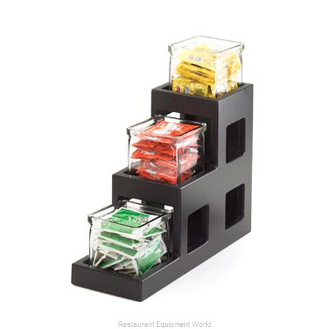Cal-Mil Plastics 1486-96 Condiment Caddy Countertop Organizer (Magnified)