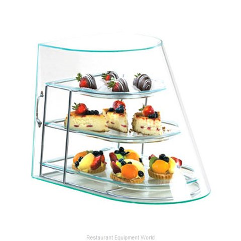 Cal-Mil Plastics 1505-3 Display Case, Pastry, Countertop (Clear)