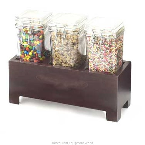 Cal-Mil Plastics 1550-5-52 Condiment Caddy Countertop Organizer (Magnified)