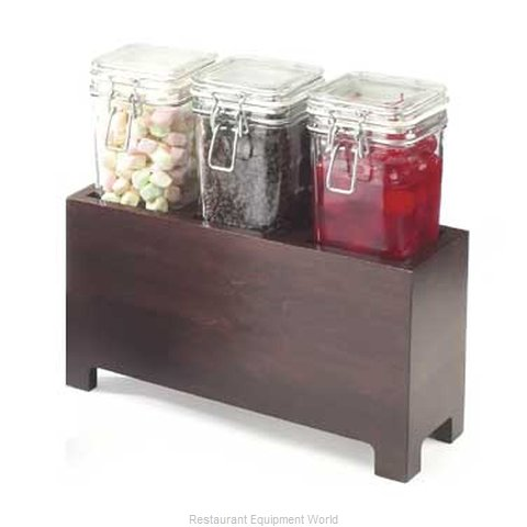 Cal-Mil Plastics 1550-7-52 Condiment Caddy Countertop Organizer (Magnified)