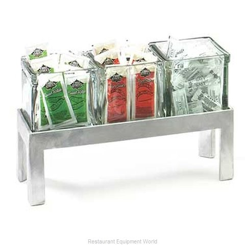 Cal-Mil Plastics 1560-4 Condiment Caddy, Countertop Organizer (Magnified)