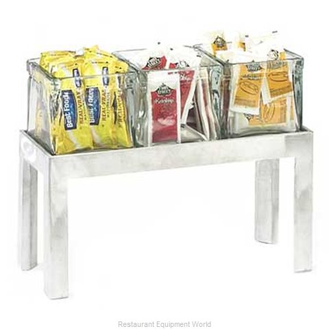 Cal-Mil Plastics 1560-6 Condiment Caddy Countertop Organizer (Magnified)