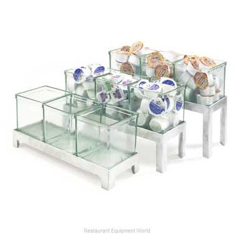 Cal-Mil Plastics 1561-6 Condiment Caddy Countertop Organizer (Magnified)