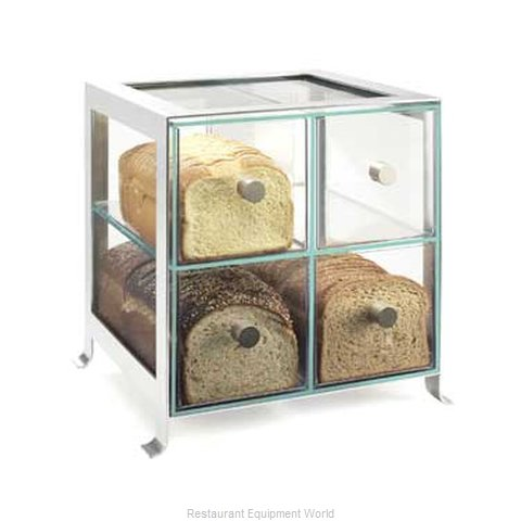 Cal-Mil Plastics 1586-74 Display Case Pastry Countertop Clear
