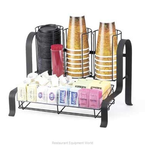 Cal-Mil Plastics 1594-13 Condiment Caddy Countertop Organizer (Magnified)