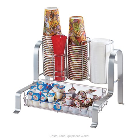 Cal-Mil Plastics 1594-74 Condiment Caddy Countertop Organizer (Magnified)