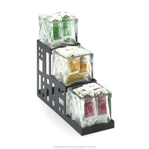 Cal-Mil Plastics 1604-13 Condiment Caddy Countertop Organizer (Magnified)