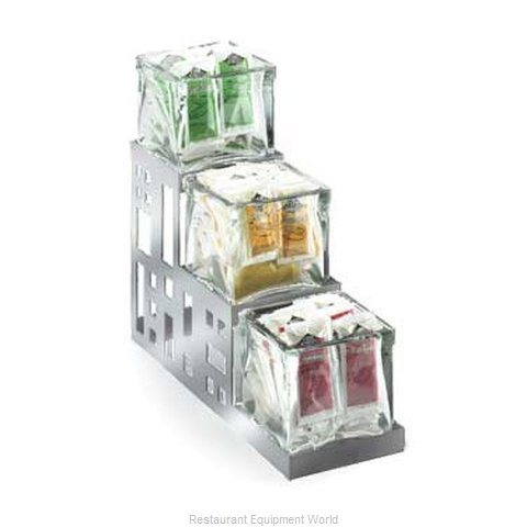 Cal-Mil Plastics 1604-55 Condiment Caddy Countertop Organizer (Magnified)
