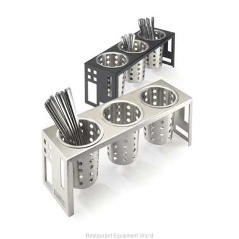 Cal-Mil Plastics 1608-55 Condiment Caddy Countertop Organizer (Magnified)