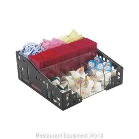 Cal-Mil Plastics 1616-13 Condiment Organizer Bin Rack
