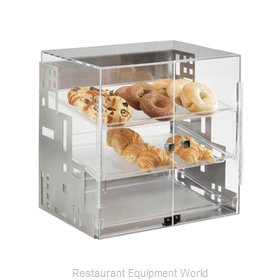 Cal-Mil Plastics 1621-13 Display Case Pastry Countertop Clear