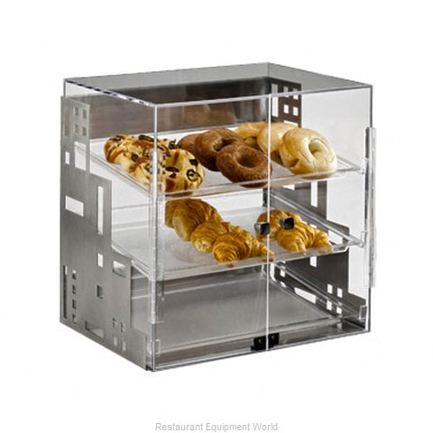 Cal-Mil Plastics 1621-55 Display Case Pastry Countertop Clear
