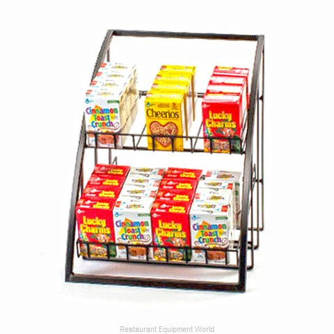 Cal-Mil Plastics 1702-13 Tiered Display Server Stand (Magnified)