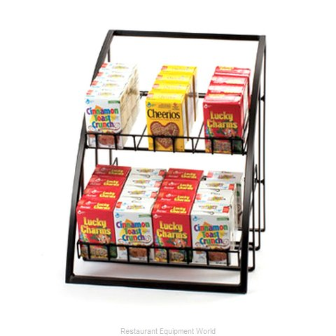 Cal-Mil Plastics 1702-39 Tiered Display Server Stand (Magnified)