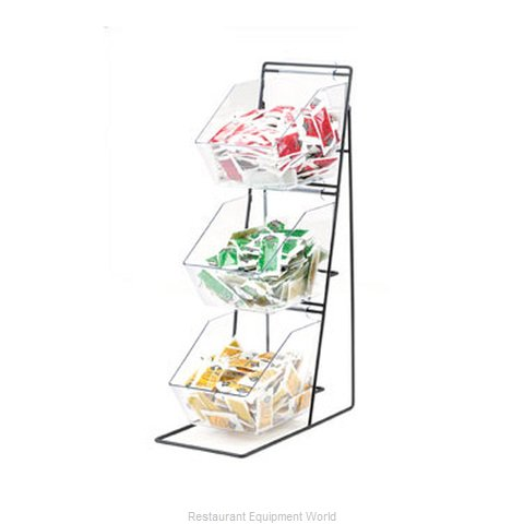 Cal-Mil Plastics 1709 Condiment Caddy Countertop Organizer (Magnified)