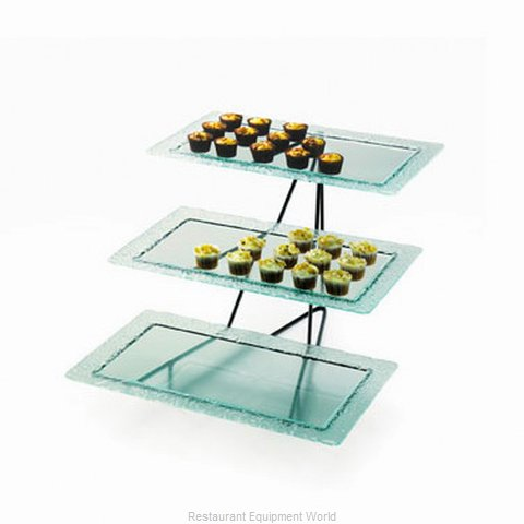 Cal-Mil Plastics 1710-13 Tiered Display Server Stand