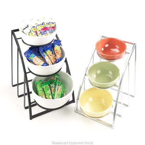 Cal-Mil Plastics 1712-10-39 Tiered Display Server Stand
