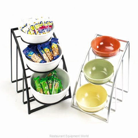Cal-Mil Plastics 1712-8-13 Tiered Display Server Stand (Magnified)