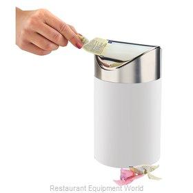Cal-Mil Plastics 1717-15 Trash Receptacle, Countertop