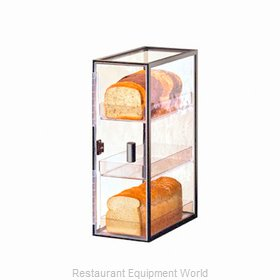 Cal-Mil Plastics 1720-3 Display Case Pastry Countertop Clear
