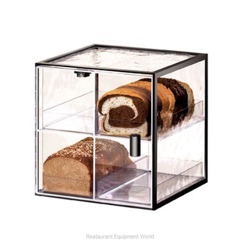 Cal-Mil Plastics 1720-4 Display Case Pastry Countertop Clear