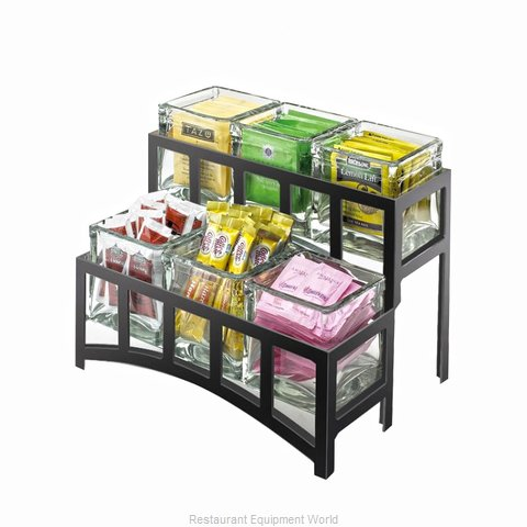 Cal-Mil Plastics 1723-13 Condiment Caddy Countertop Organizer (Magnified)