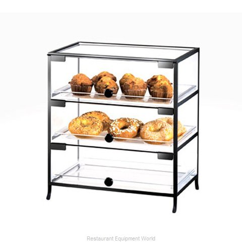 Cal-Mil Plastics 1735-1318 Display Case Pastry Countertop Clear