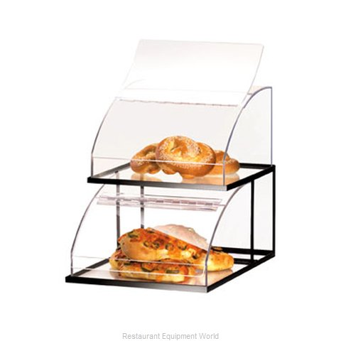 Cal-Mil Plastics 1736 Display Case Pastry Countertop Clear