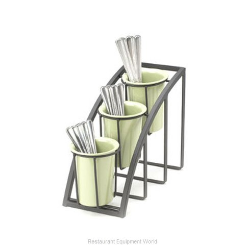 Cal-Mil Plastics 1746-3-13 Condiment Caddy Countertop Organizer (Magnified)