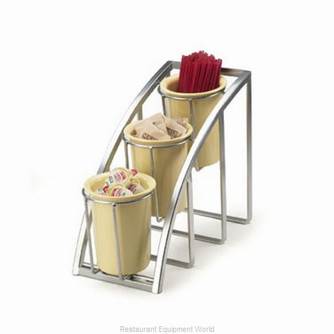 Cal-Mil Plastics 1746-3-39 Condiment Caddy Countertop Organizer (Magnified)