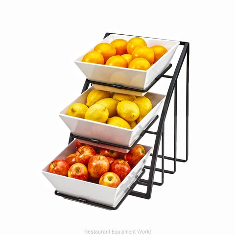 Cal-Mil Plastics 1750-13 Condiment Caddy Countertop Organizer (Magnified)