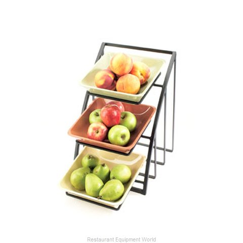 Cal-Mil Plastics 1750-39 Condiment Caddy Countertop Organizer (Magnified)