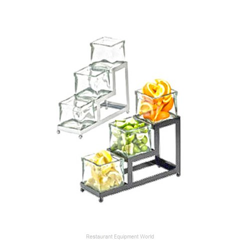 Cal-Mil Plastics 1803-4-13 Condiment Caddy, Countertop Organizer (Magnified)