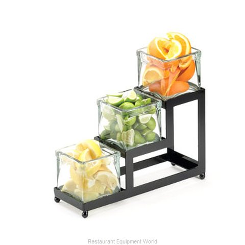 Cal-Mil Plastics 1803-5-13 Condiment Caddy Countertop Organizer (Magnified)