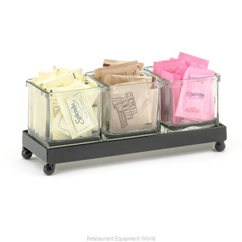Cal-Mil Plastics 1805-2-13 Condiment Caddy Countertop Organizer (Magnified)
