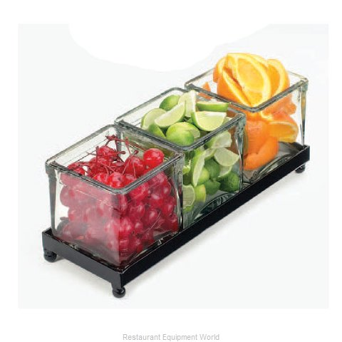 Cal-Mil Plastics 1805-4-13 Condiment Caddy Countertop Organizer (Magnified)