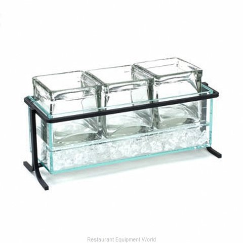 Cal-Mil Plastics 1806-5-13 Condiment Caddy Countertop Organizer (Magnified)