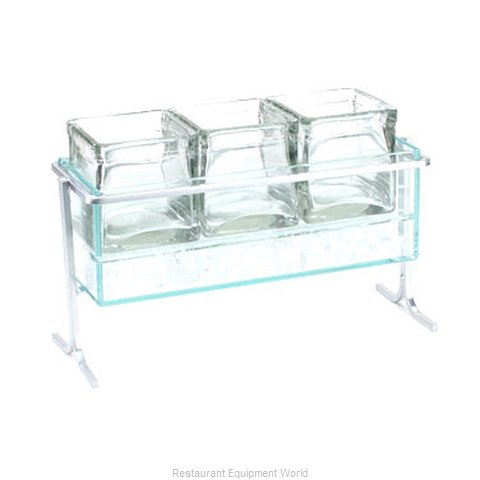 Cal-Mil Plastics 1806-7-39 Condiment Caddy, Countertop Organizer (Magnified)