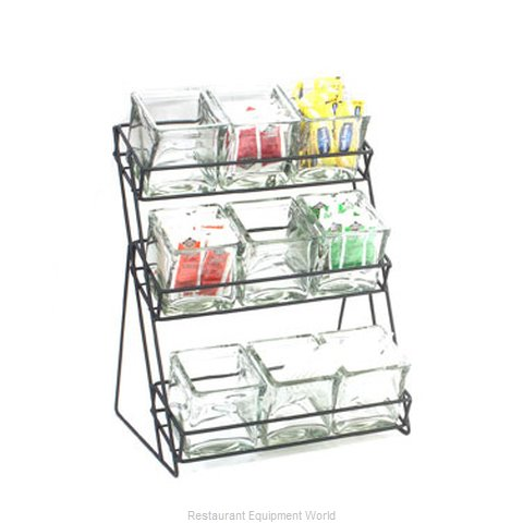 Cal-Mil Plastics 1812-13 Condiment Caddy Countertop Organizer (Magnified)