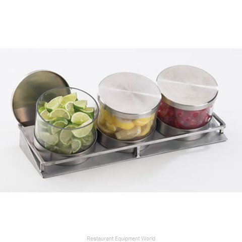 Cal-Mil Plastics 1850-1-55 Condiment Caddy Tabletop Rack